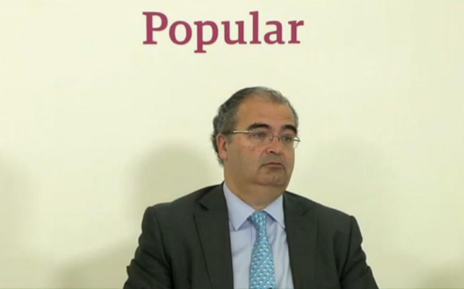 Ángel Ron, presidente del Banco Popular