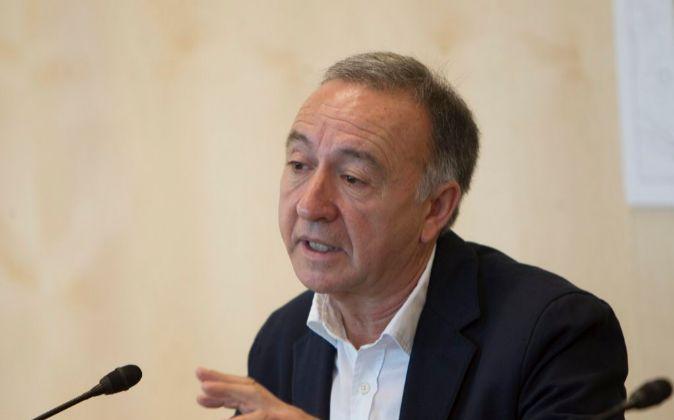El vicepresidente de Movilidad y Transporte de la AMB, Antoni Poveda.