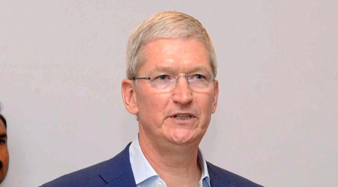 El máximo ejecutivo de Apple, Tim Cook.