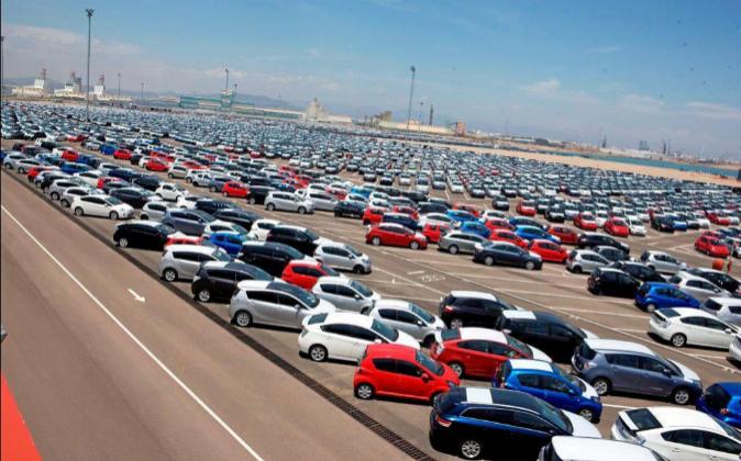 El sector automovilístico es el que presentó un mayor aumento del...