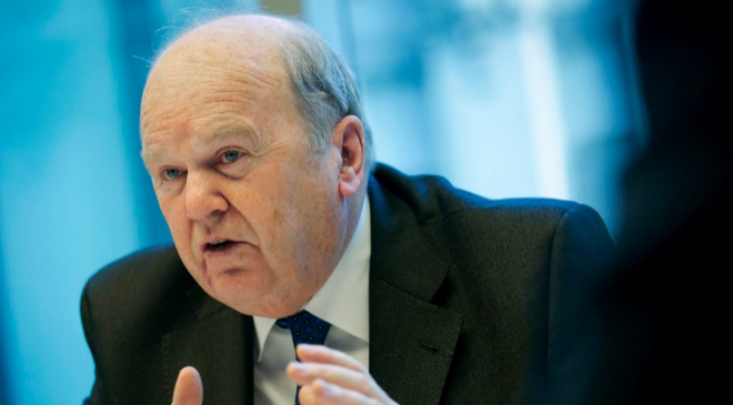 El ministro de Finanzas de Irlanda, Michael Noonan.