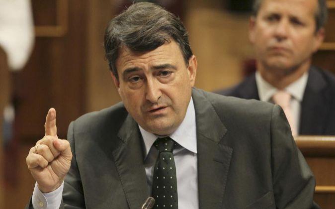 El portavoz del PNV en el Congreso, Aitor Esteban.