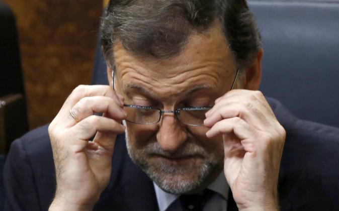 El presidente del PP, Mariano Rajoy.