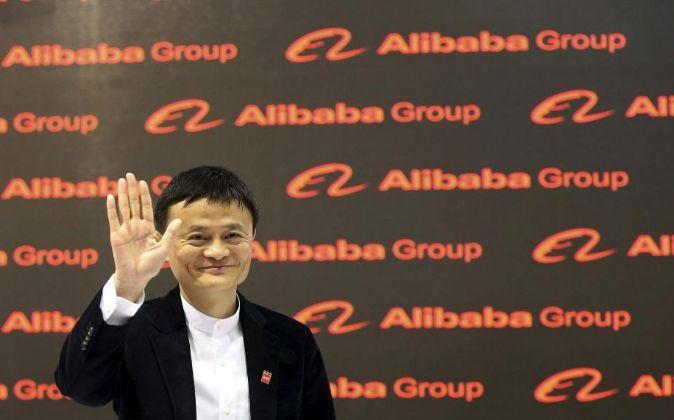 El fundador de la multinacional de comercio electrónico Alibaba Jack...