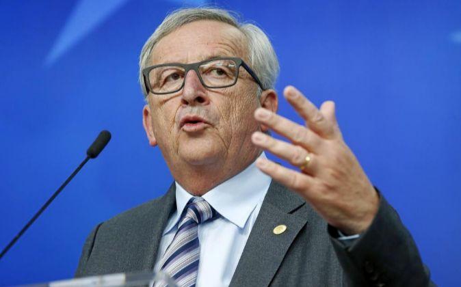 El presidente de la Comisión Europea (CE) Jean-Claude Juncker.