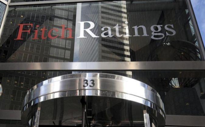 Sede de la agencia de calificación Fitch en Nueva York, EEUU.