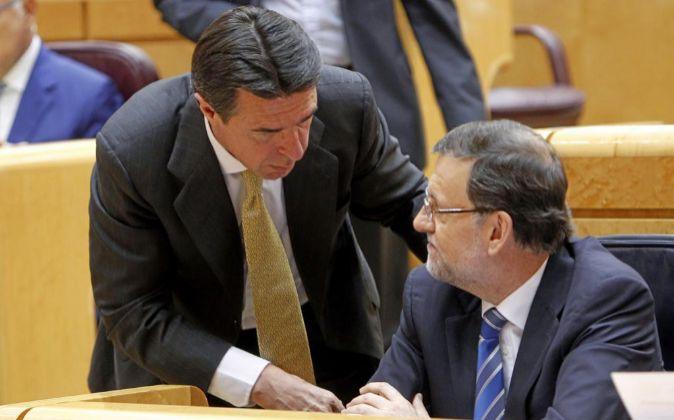 Foo de archivo del presidente del Gobierno en funciones, Mariano...