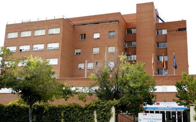 Fachada del Hospital La Paz-Carlos III de Madrid.