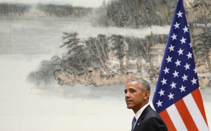 El presidente de los EEUU Barack Obama.