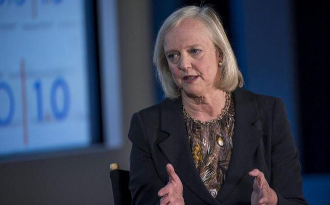 Meg Whitman, consejera delegada de HP Enterprise.