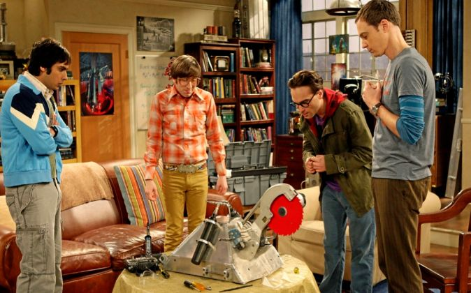 Éxitos como el de la serie 'The Big Bang Theory' se...