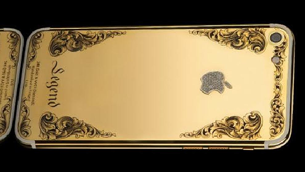 La compañía tecnológica Legend se ha propuesto tunear el Iphone 7...