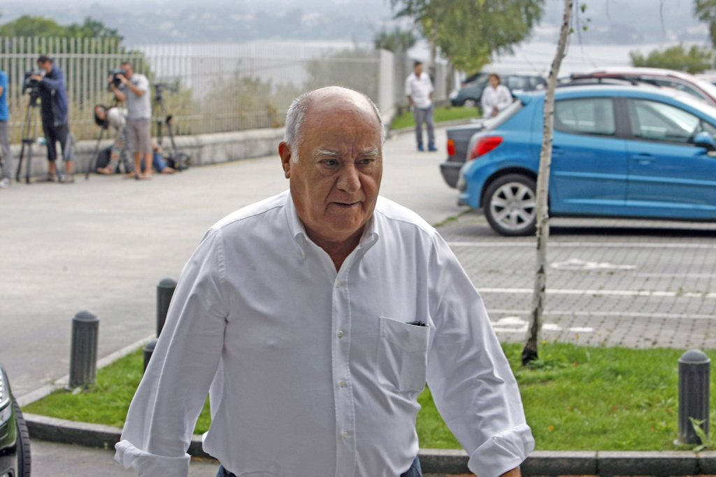 Amancio Ortega es el fundador y máximo accionista de Inditex.