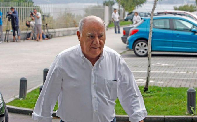 Amancio Ortega, propietario del grupo Inditex