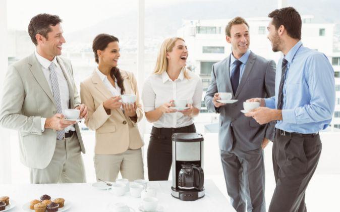 Es normal estar más preocupado por tener una máquina de café.
