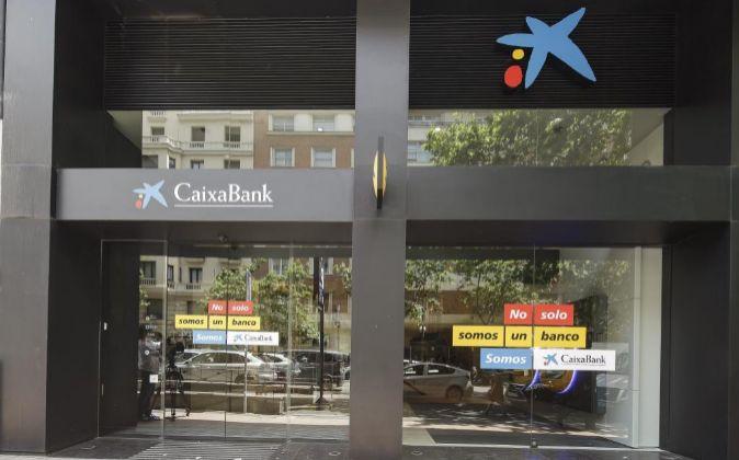 Oficina bancaria de CaixaBank