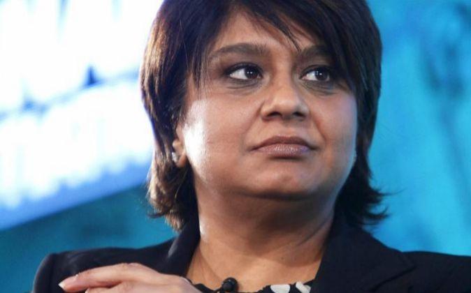 Shriti Vadera, presidenta de Santander UK.
