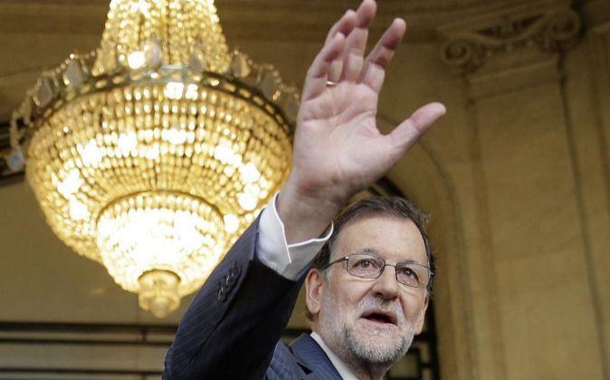El jefe del Ejecutivo en funciones y líder del PP, Mariano Rajoy.