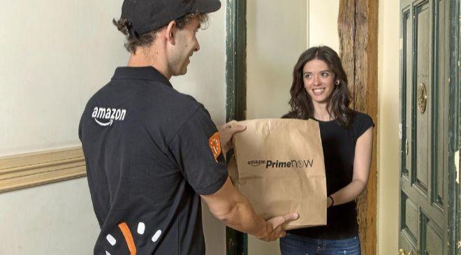 Amazon también te lleva la compra de casa al supermercado a través...
