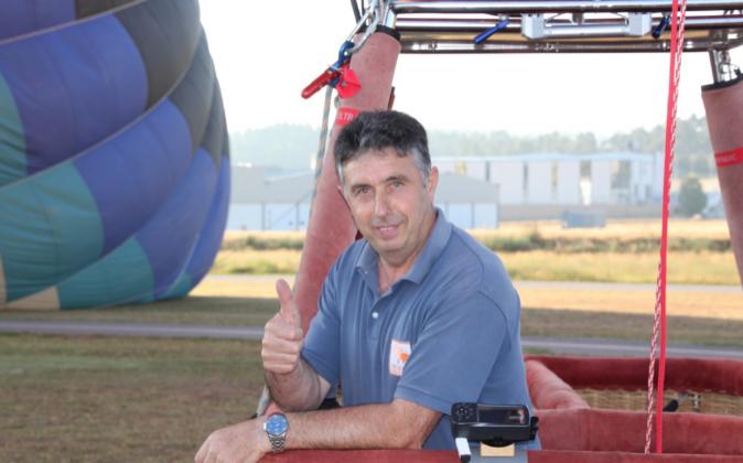Óscar Ayala, fundador de Globos Arcoiris