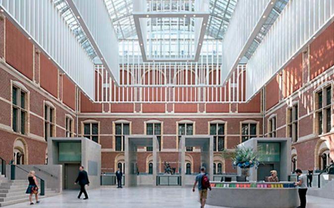 Cruz y Ortiz firmaron la renovación del Rijksmuseum de Ámsterdam.