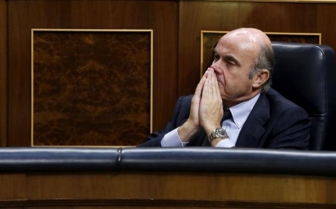 Luis de Guindos, ministro de Economía en funciones.