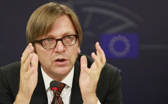 El eurodiputado belga Guy Verhofstadt ha sido designado opr el...