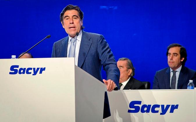 El presidente de Sacyr, Manuel Manrique.