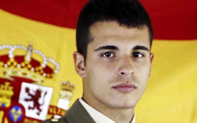 El militarfallecido, Aarón Vidal López.