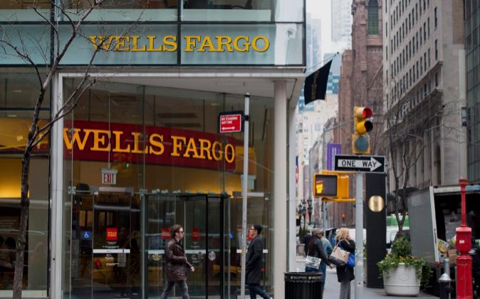 Sucursal de Wells Fargo en Nueva York.