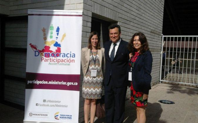 Representantes del Rectorado de Cáceres en la Cumbre Iberoamericana