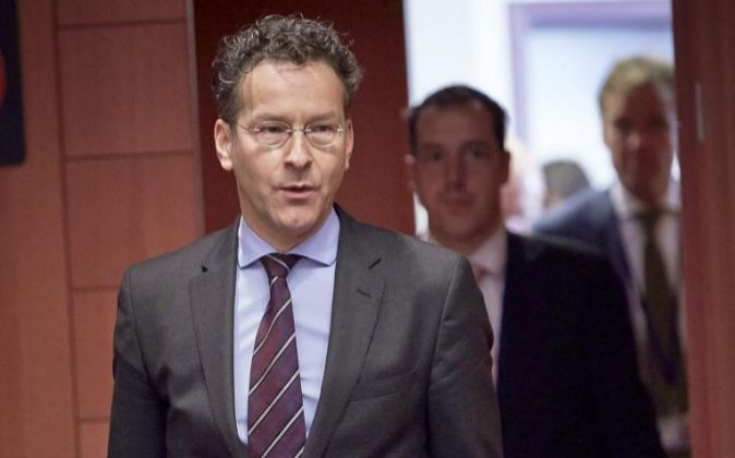 El presidente del Eurogrupo Jeroen Dijsselbloem.