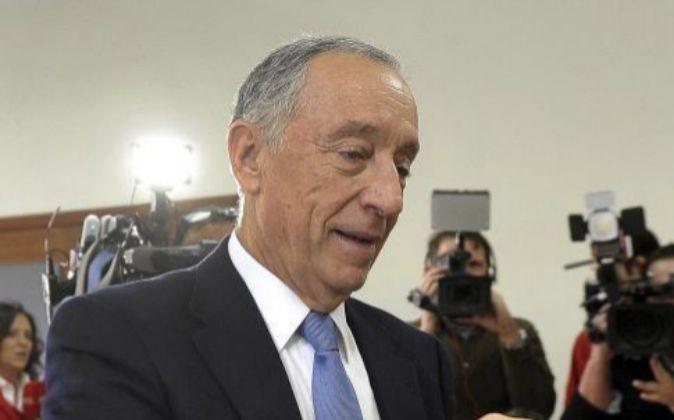 El presidente de Portugal Marcelo Rebelo de Sousa.