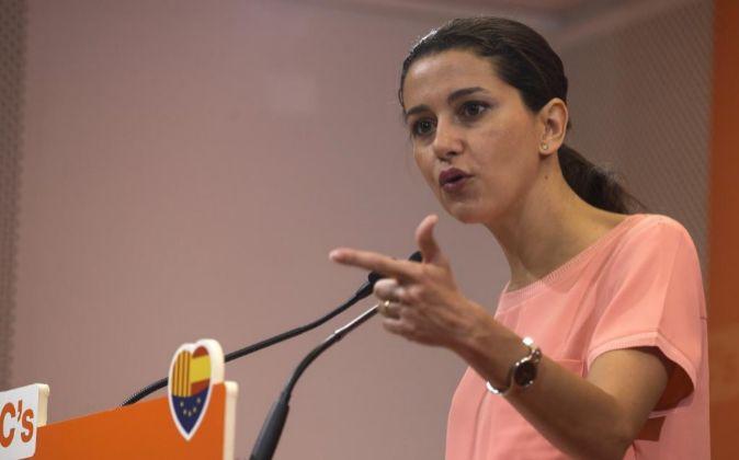 La líder de Ciutadans (C's) en Cataluña Inés Arrimadas.