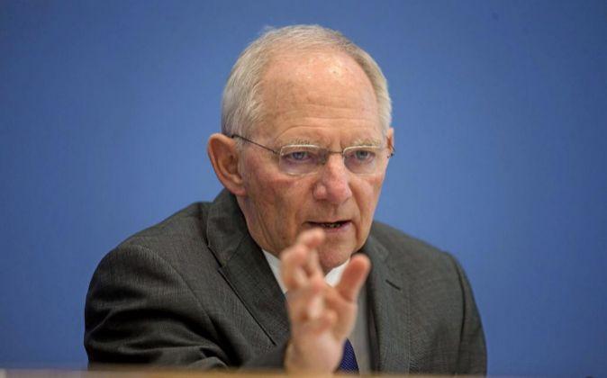 El ministro de Finanzas alemán Wolfgang Schaüble.