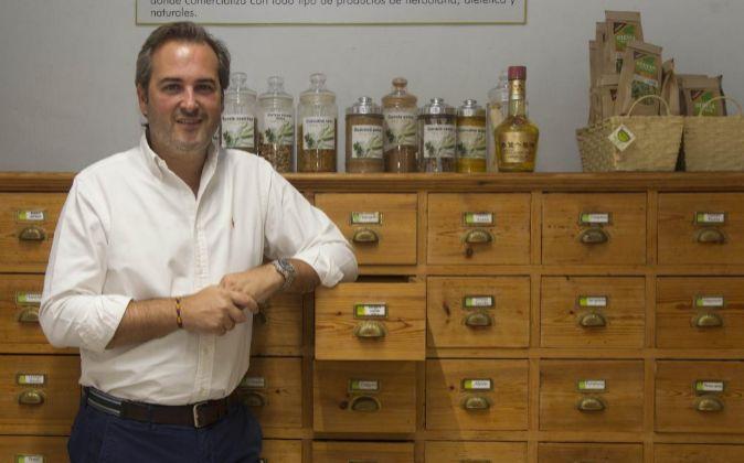 José Navarro, director general de Herbolario Navarro.
