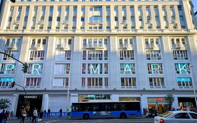 En la imagen, tienda de Primark en la Gran Vía de Madrid.