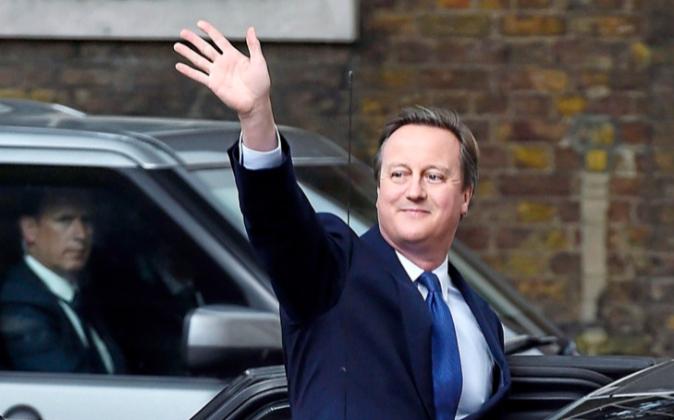 El exprimer ministro británico David Cameron.