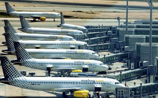 Aviones de Vueling.