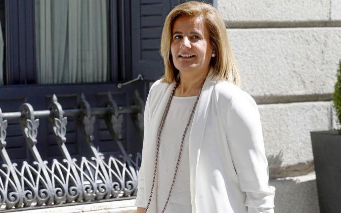 La ministra de Empleo y Seguridad Social, Fátima Bañez.
