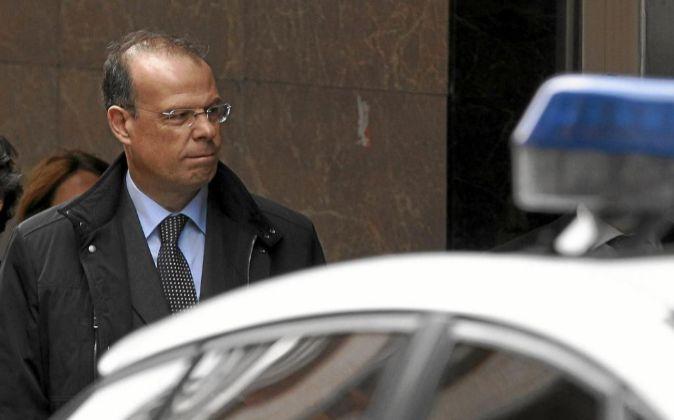 El ex director general de Novacaixagalicia José Luis Pego.