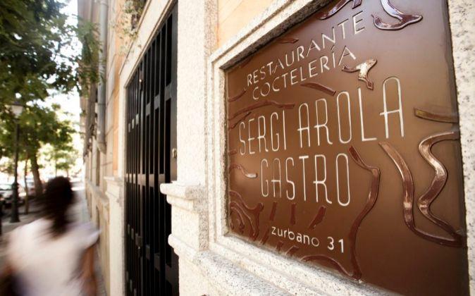 Restaurante Sergi Arola Gastro en la madrileña calle de Zurbano