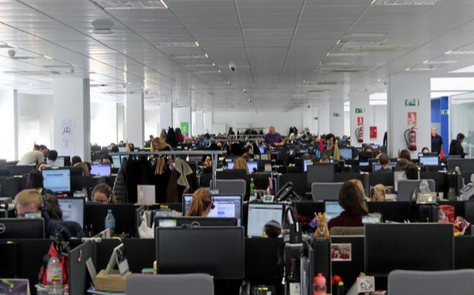En la imagen, oficinas de eDreams en España.