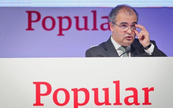Ángel Ron, presidente de Popular.
