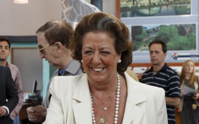 La senadora Rita Barberá.