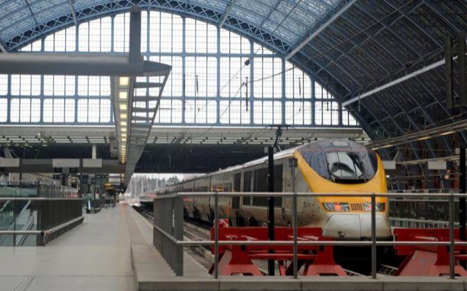 Estación de tren de Londres.