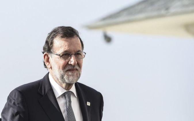 El presidente en funciones del Gobierno español, Mariano Rajoy.