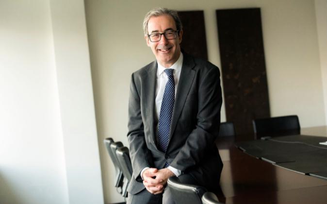 El socio director mundial de Allen  &Overy, Andrew Ballheimer, en...