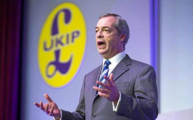 Nigel Farage.
