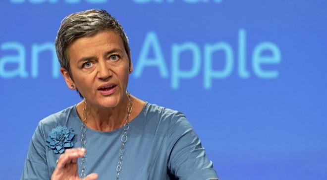 La comisaria europea de Competencia Margrethe Vestager.